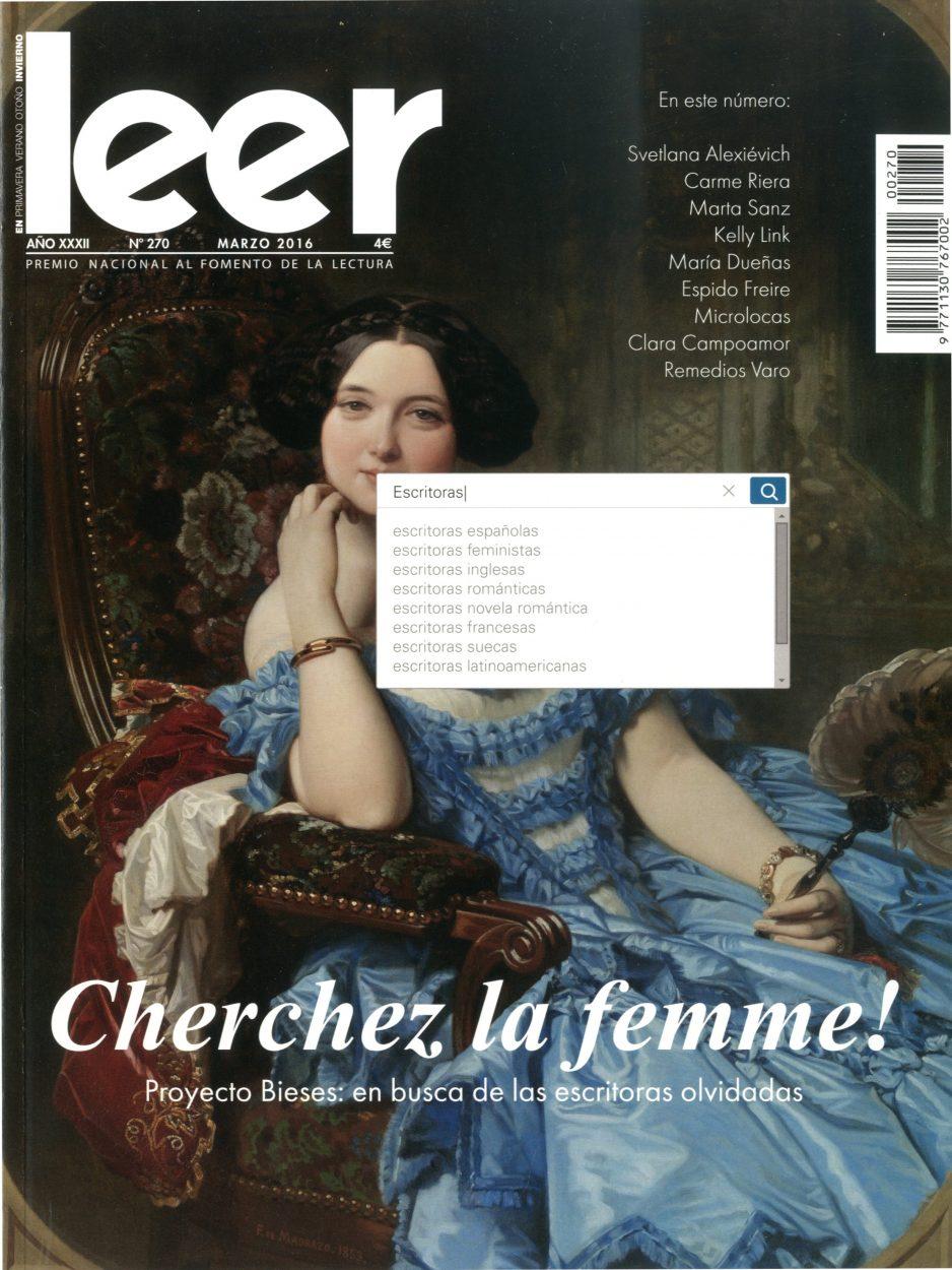 El proyecto BIESES en la portada de la revista «Leer»