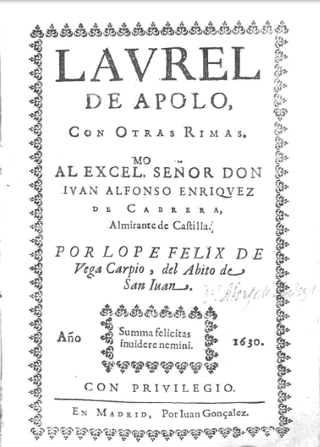 El canon literario femenino del Siglo de Oro a través de Lope de Vega