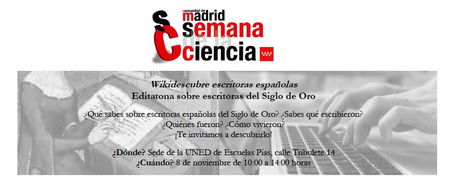 Wikidescubre escritoras españolas